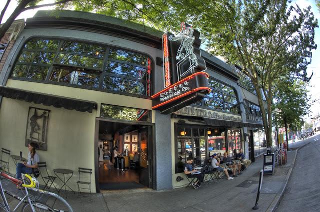 Outside Caffe Vita